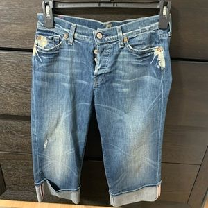 7 of all mankind capris